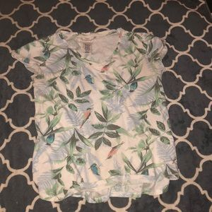 Cute youth 10-12 Flower top from h and m